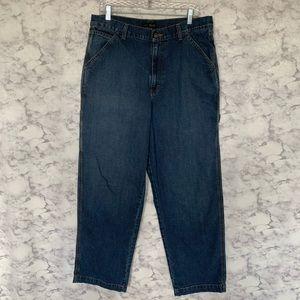 J Crew Blue Carpenter Jeans 35/32